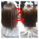 ビビり毛がある縮毛矯正の予約のお客様には、プレックスメントの髪質改善ストレートを。横浜/鶴ヶ峰/美容室