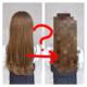 久々にみーちゃんをカット+THROWカラー+oggiotto髪質改善をした