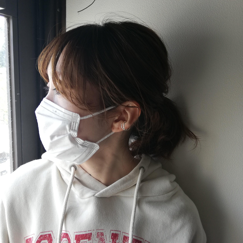前髪 巻き 取れる マスク